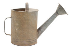 Old watering can Stock Images
