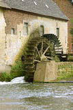 Old watermill. Old working watermill, Wijlre, Holland Royalty Free Stock Images