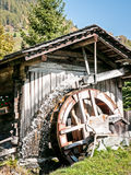 Old watermill. At a farm Stock Photo