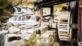 Old watermill Stock Photo