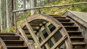 Old watermill in forest Royalty Free Stock Photos