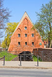 Old watermill, Gdansk, Poland Stock Photography
