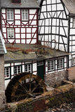 Old watermill in the historic town Monschau, Ei Stock Images