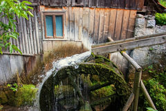 Old watermill in Transylvania. Still working watermill in a village in Transylvania Royalty Free Stock Photography