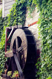 Old watermill with waterwheel Royalty Free Stock Image