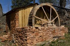 Old Waterwheel Stock Photography