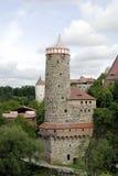 Old Waterworks of Bautzen in Germany Stock Photos