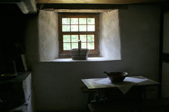 Old way of life. Kitchen in the old style Stock Photos