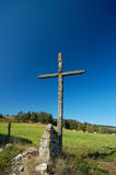 Old wayside cross Royalty Free Stock Photography