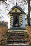 Old Wayside shrine. In Modlnica near Cracow. Poland Stock Photos