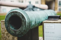 Old weapon from London. Musseum of Artillery, Woolwich Arsenal. A part of history Royalty Free Stock Images