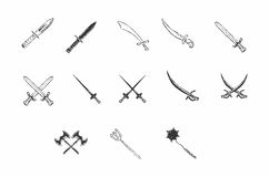Old weapons Royalty Free Stock Photos