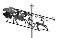 Old weather vane Stock Images