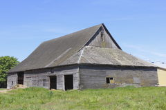 An Old Weathered Barn Stock Photography