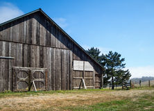 Old weathered barn Royalty Free Stock Photos