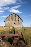 Old weathered barn. Royalty Free Stock Photography