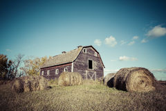 Old Weathered Barn Stock Photography