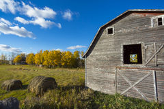 Old Weathered Barn Royalty Free Stock Photography