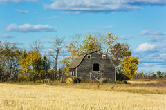 Old Weathered Barn Stock Image