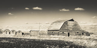 Old Weathered Barn Stock Photo
