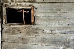 Old weathered barn wall Stock Photo