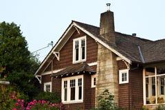 Old Weathered Beautiful Farmhouse Stock Image