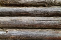 Old weathered boards logs pattern texture rustic natural color patina royalty free stock images