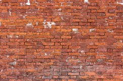 Old weathered brick wall Royalty Free Stock Photography