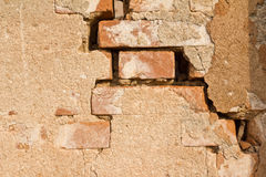 Old weathered brick wall Royalty Free Stock Image