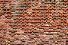 Old weathered brick wall. As texture Royalty Free Stock Photos