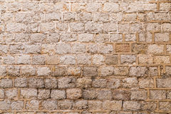 Old weathered brick wall Stock Images