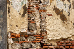 Old weathered brick wall Stock Photo