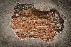 Old weathered brick wall - fragment Royalty Free Stock Photography