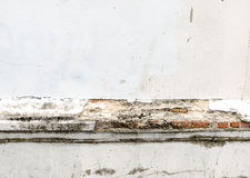 Old weathered brick wall fragment, texture background.  royalty free stock images