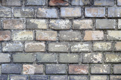 Old weathered bricks wall Royalty Free Stock Photos