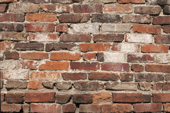 Old weathered brickwall Royalty Free Stock Photos