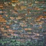 Old weathered and broken wall Royalty Free Stock Images