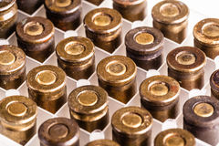 Old weathered bullets Royalty Free Stock Images