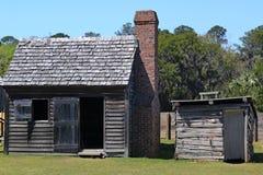 Settlers Cabin stock image