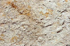 Old weathered concrete wall. Closeup texture of an old, weathered concrete wall Royalty Free Stock Photography