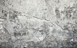 Old weathered concrete wall with damages Stock Photos