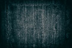 Old weathered concrete wall - gloomy sinister dark background. Old weathered concrete wall. Gloomy sinister dark grunge background Royalty Free Stock Photos