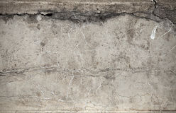 Old weathered concrete wall texture Stock Photography