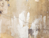 Old weathered concrete wall, texture with cracks Royalty Free Stock Photo