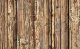 Old Weathered Cracked Flaky Wooden Laminated Block-board Panel Grunge Texture Royalty Free Stock Photos