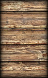 Old Weathered Cracked Flaky Wooden Laminated Block-board Panel Vignetted Grunge Texture Royalty Free Stock Image