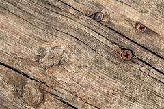 Old Weathered Cracked Knotted Pine Wood Floorboard Grunge Texture Stock Photo