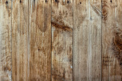 Old weathered dark wooden planks. Royalty Free Stock Photo