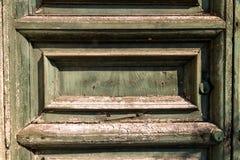 Old weathered door Stock Images