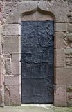 Historic door at Haut-Koenigsbourg Castle Royalty Free Stock Photo